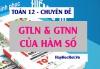 Các dạng bài tập Tìm giá trị lớn nhất (GTLN), giá trị nhỏ nhất (GTNN) của hàm số và cách giải - Toán lớp 12